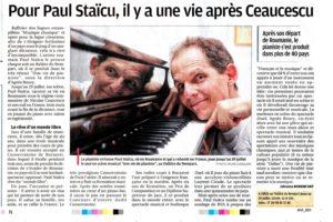 Paul Staïcu - UNE VIE DE PIANISTE